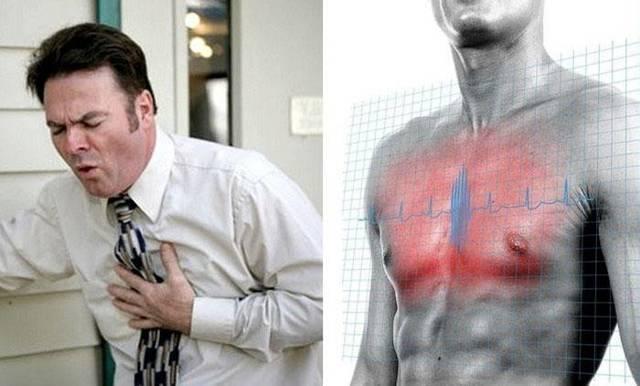 Причины чувства дискомфорта в грудной клетке: в левой части, посередине, за грудиной и справа