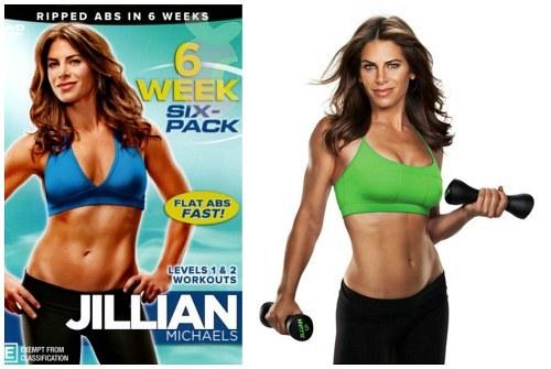 Плоский живот за 6 недель с Джиллиан Майклс: 1 и 2 уровень