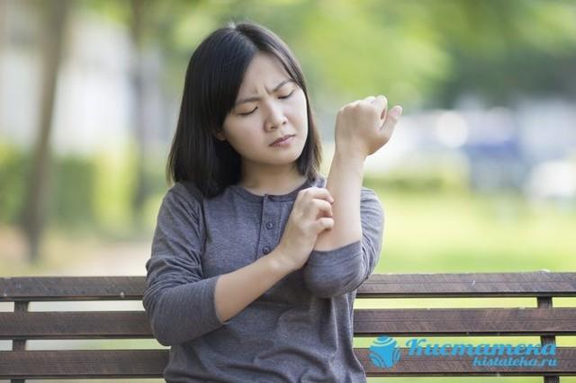 Атерома на бедре: причины, симптомы и лечение