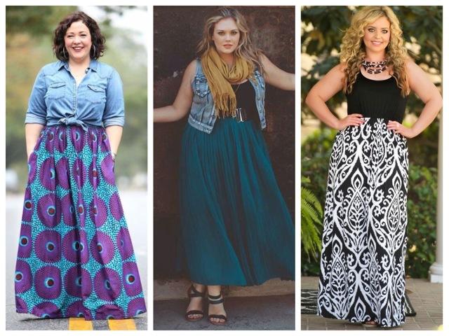 Как подобрать одежду для полных женщин с большим животом
