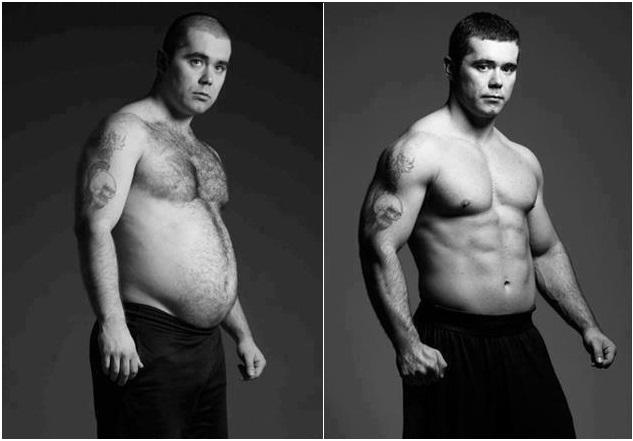 Как сжечь жир на животе и боках у мужчин