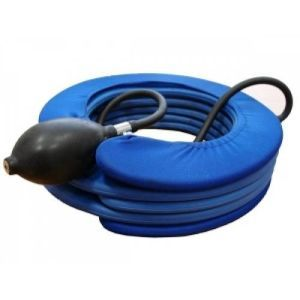 Надувной воротник для шеи: лечебный, с системой плавного пневматического вытяжения, подушка для вытягивания шейных позвонков