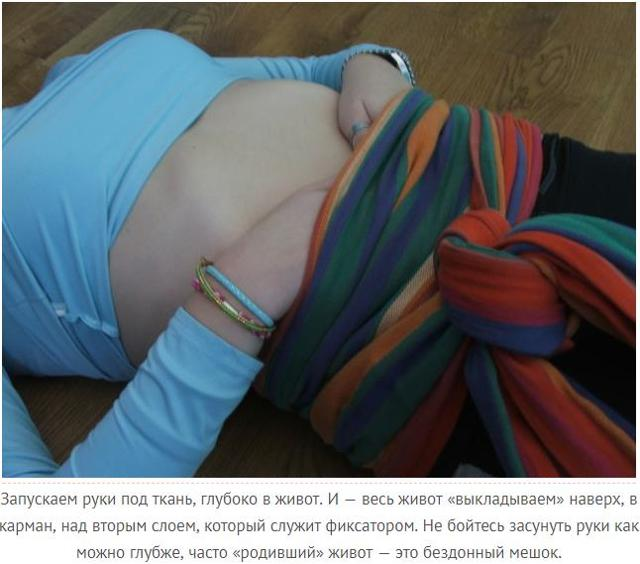 Послеродовой бандаж для подтягивания живота: принцип действия, противопоказания, виды и отзывы