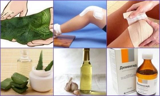 kечение артрита коленного сустава в домашних условиях народными средствами
