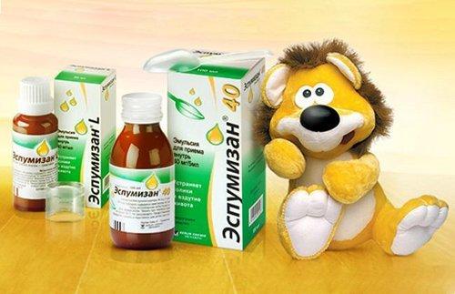 Аллергия на Эспумизан у новорожденного: признаки, лечение