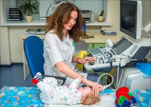 то показывает УЗИ головы новорожденного: расшифровка, норма и отклонения показателей у грудничка